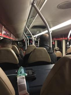 Die Busverbindungen waren nicht so super... wir haben viele, viele Stunden in Bussen verbracht.
