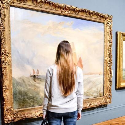 Unteranderem waren wir in der Art Gallery.