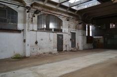 Eine alte Bahnhofshalle, cool oder?