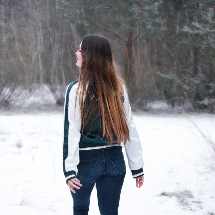 Ich Schnee am See 1 als Quadrat