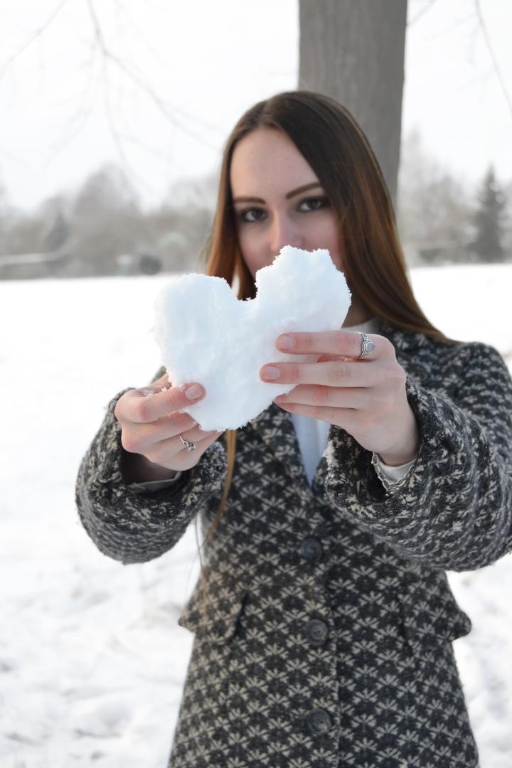 Ich Schnee Mantel 1