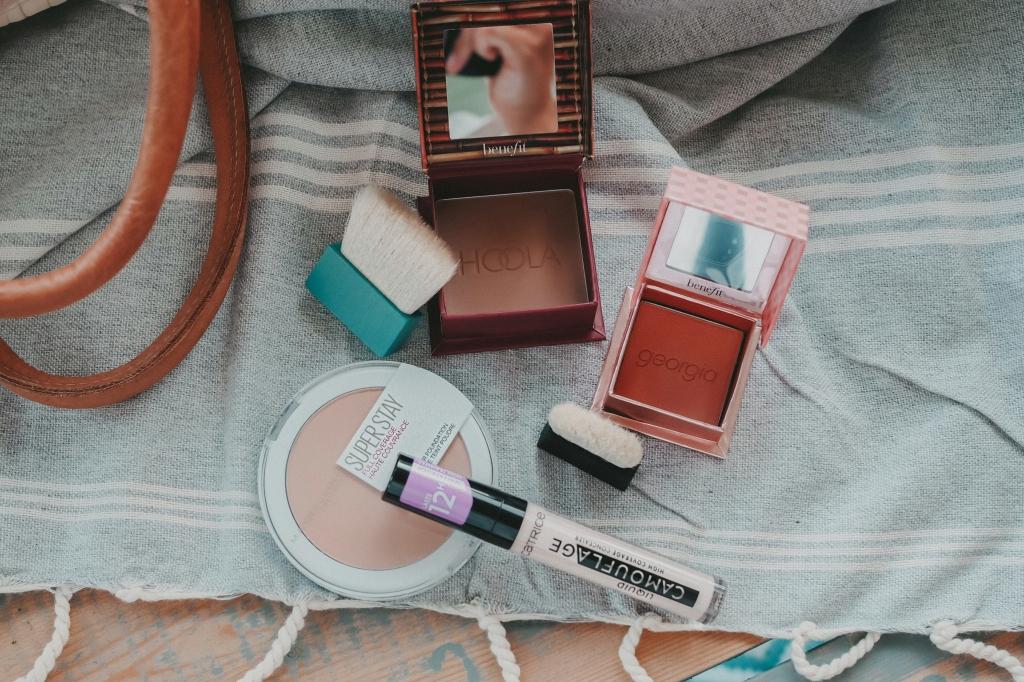 Make-up Produkte für den Taint